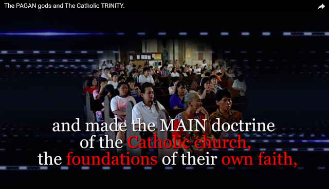 and made the MAIN doctrine of the Catholic church, the foundations of their own faith,