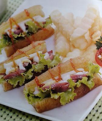 Gambar Resep Cakwe Sandwich