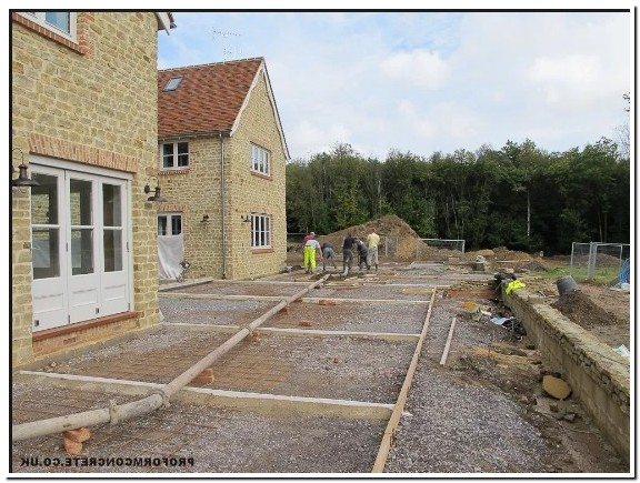 Poured Cement Patio Cost Uk