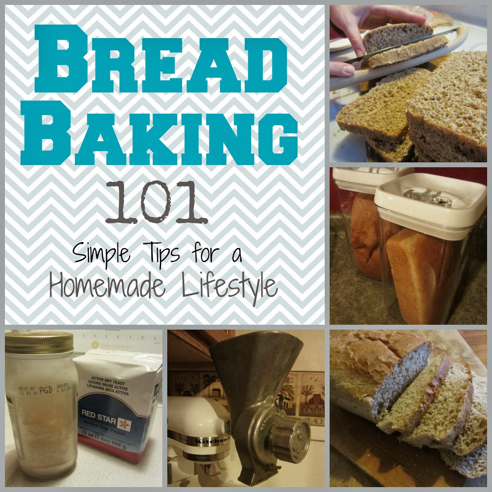 Bread Baking 101: Simple Tips for Homemade Living {The Unlikely Homeschool}