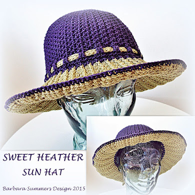 HEATHER SUN HAT PATTERN