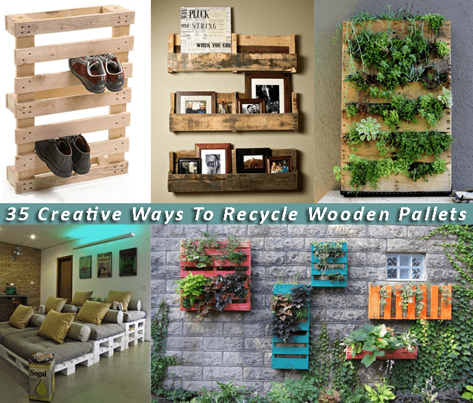 Recycle Pallet: 35 Creative Ways To Recycle Wooden Pallets