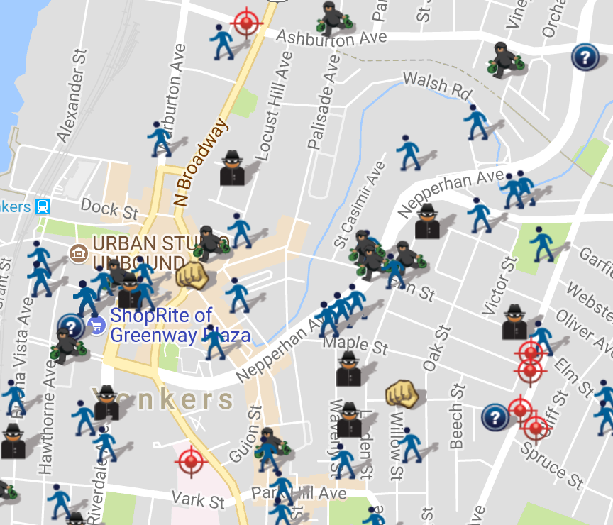 Yonkers, NY Crime Map | SpotCrime - The Public\'s Crime Map