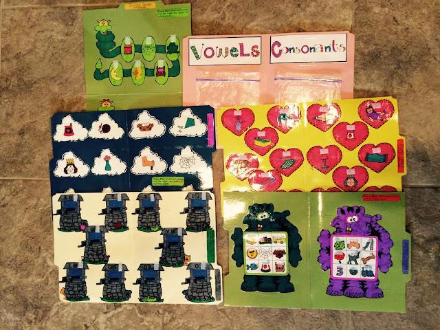 First Grade File Folder Games