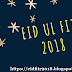 When is Eid al-Fitr in 2018?