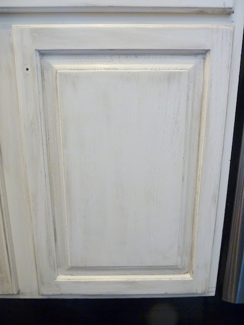 Glazing Kitchen Cabinets No Grain