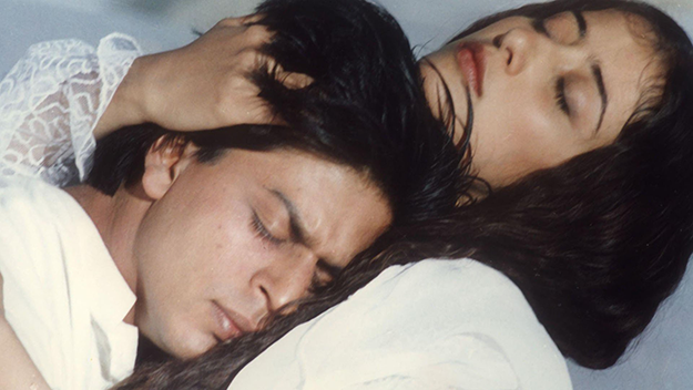 Shah Rukh Khan and Manisha Koirala in Mani Ratnam's Dil Se