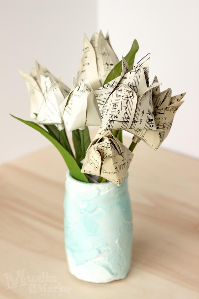 Origami Tulip Tutorial
