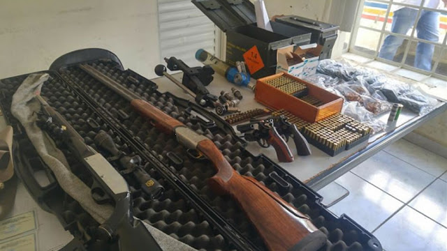 Empresário é preso em Andradas(MG) com várias armas e milhares de munições