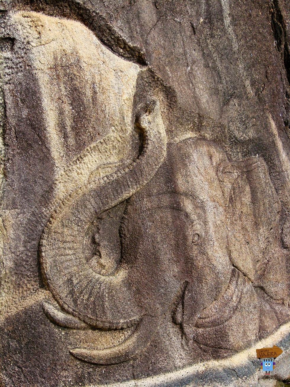 Elefante Isurumuni Raja MahaViharaya