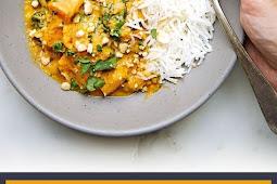 Thai Butternut Squash Red Curry Recipe