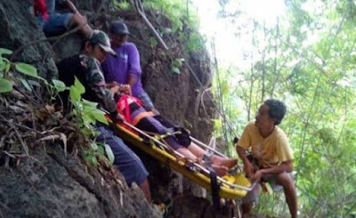 Terjatuh 45 Meter Ke Gaung, Bukan Ditolong Malah Dirogol