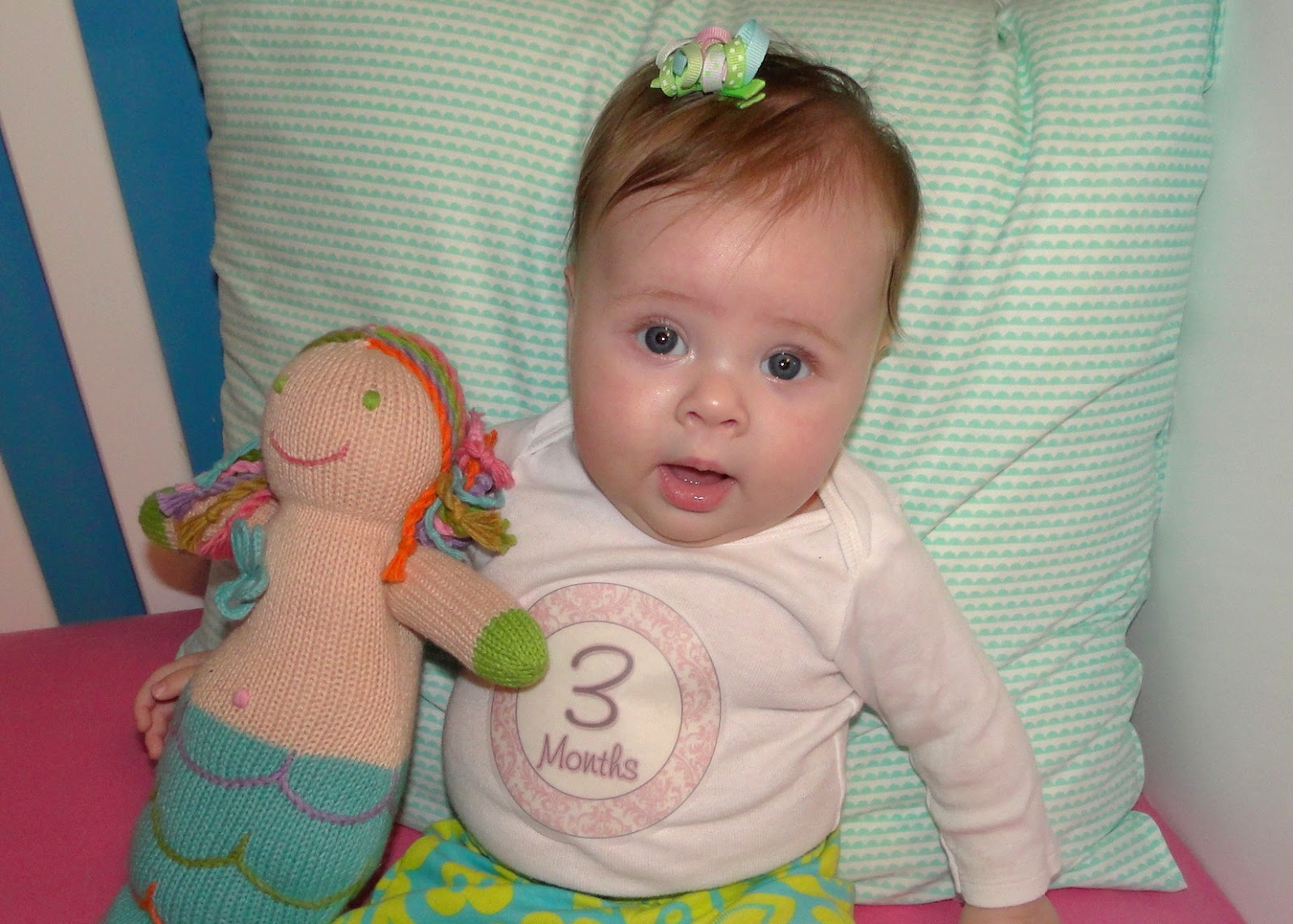 Britt ~ Three Months Old!