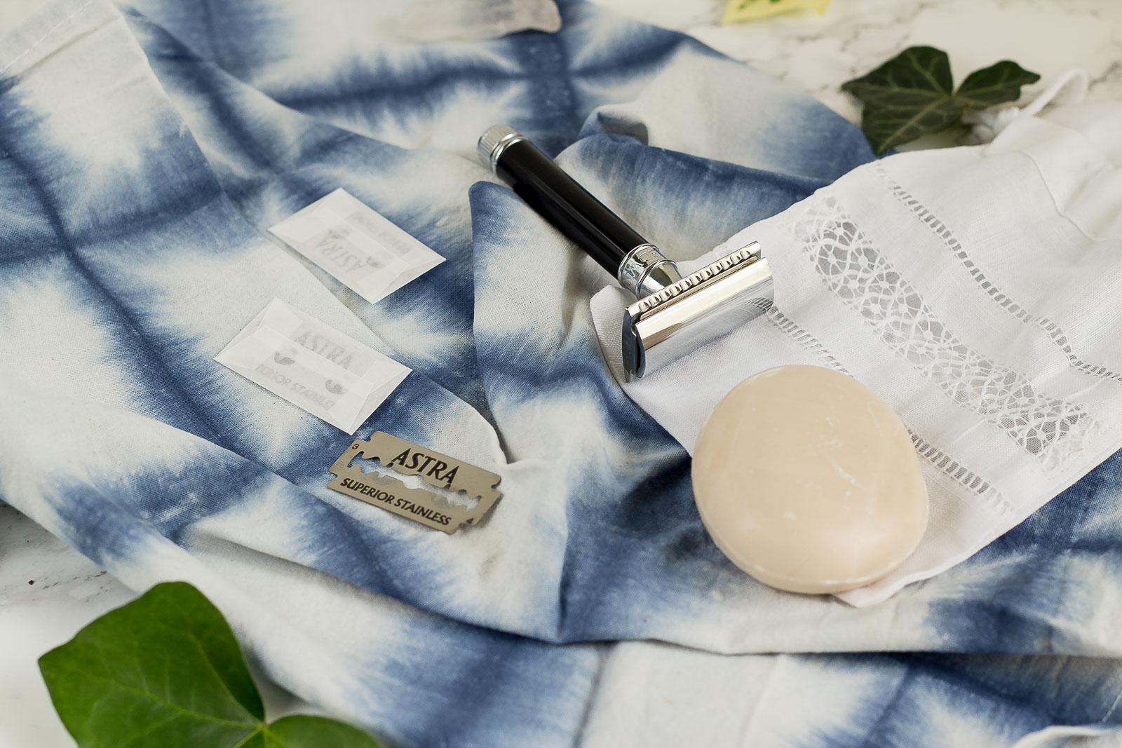 Zero Waste Rasur mit Rasierhobel - Kooperation mit BIOselect