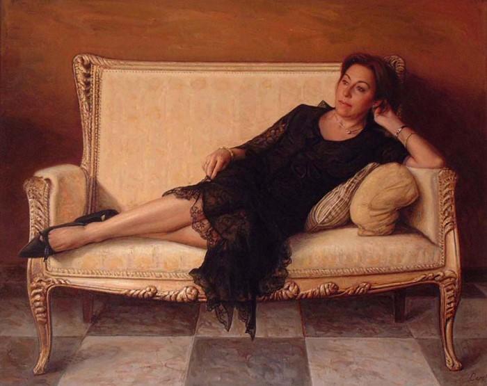 Испанский художник гипер-реалист.