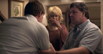 Boy Erased 2018 movie still Lucas Hedges Nicole Kidman Russell Crowe Joel Edgerton