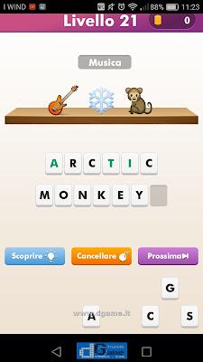 Emoji Quiz soluzione livello 21