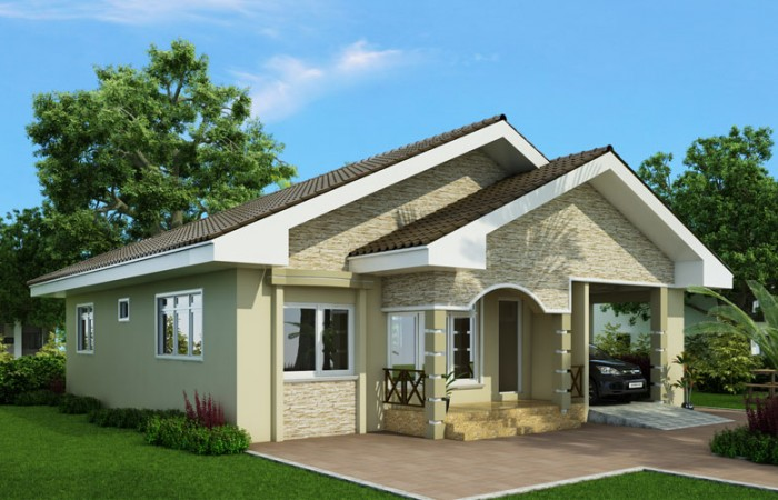 Simple 3 Bedroom House Plans Layout And interior Design With Garage