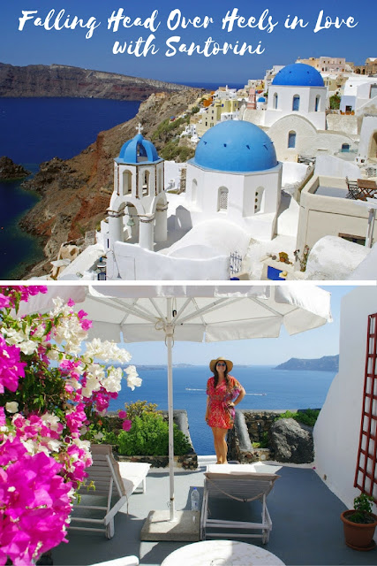 Falling Head Over Heels in Love with Santorini