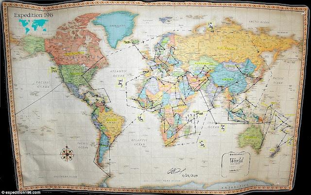 Wanita Pertama Mengelilingi Kesemua Negara Di Dunia