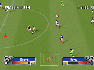 Super Shot Soccer PS1 Gameplay
