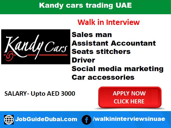 Job Interview: Kandy cars trading UAE - Job Guide