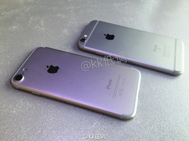French blog NowhereElse.fr posted an another video which offers a side-by-side comparison of an alleged iPhone 7 casing and the iPhone 6S.
