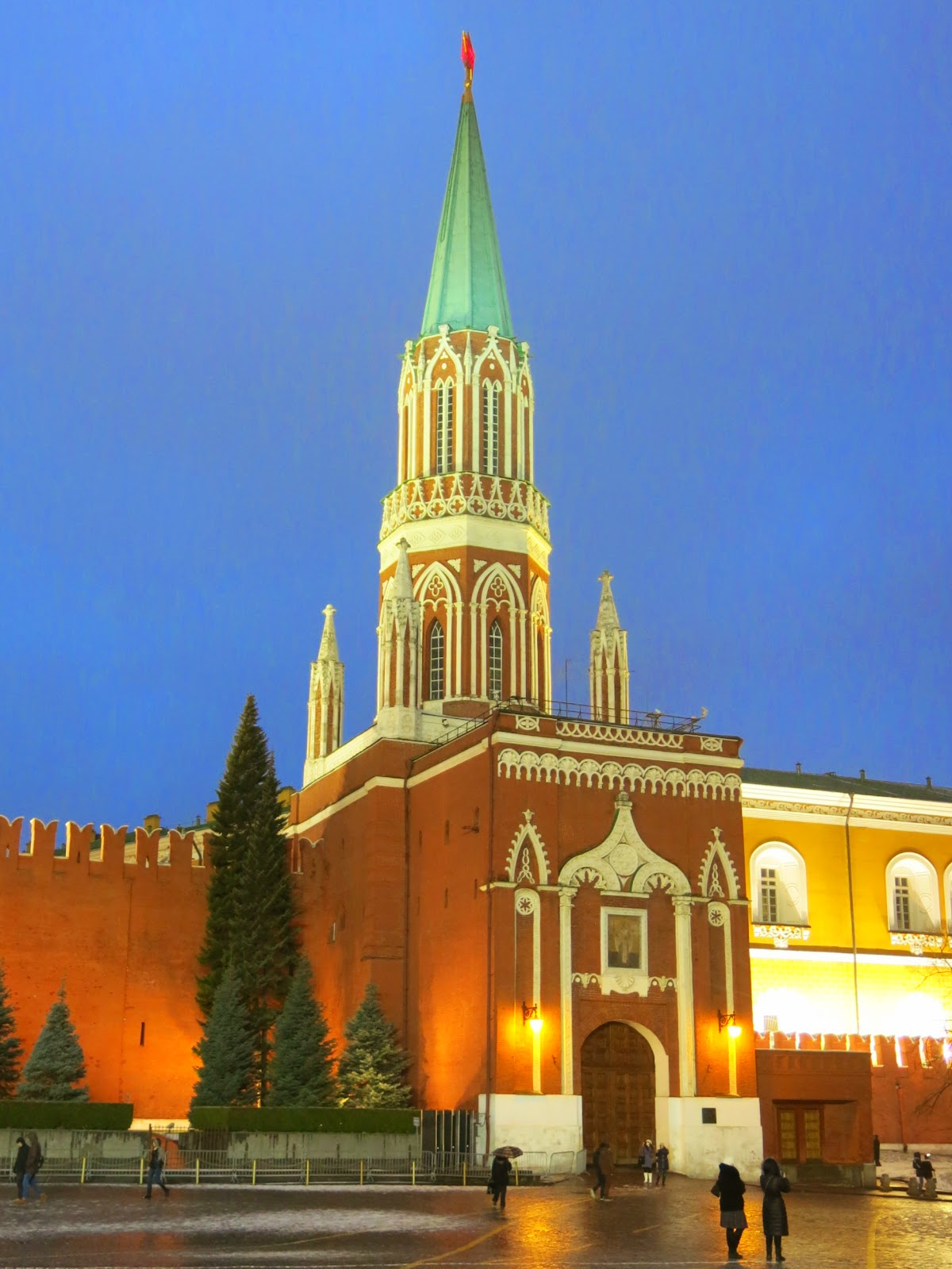 Röda Torget Moskva
