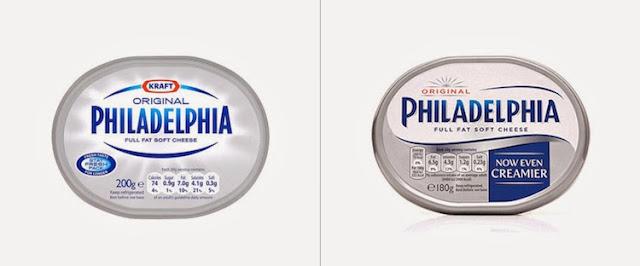 Nuevo logo y packaging de Philadelphia para Europa
