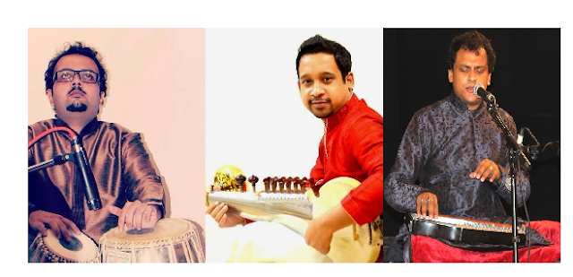 "HCL Concerts Presents ""The Wave of Maihar"" featuring Shiraz Ali Khan (Sarod), Sourabh Goho (Tabla) and Arindam Bhattacharyya (Vocals)"