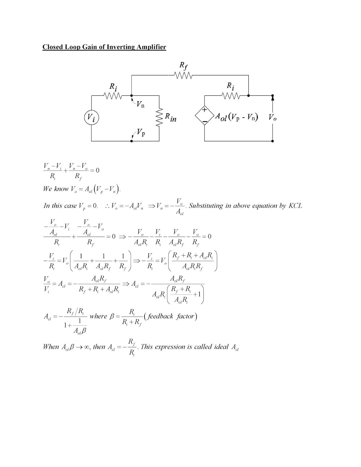 Trictron July 2018 Diffusion Of Impurities For Ic Fabrication Closed Loop Gain Op Amp In Inverting And Non Configurations