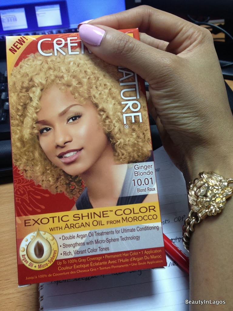 Creme Of Nature Ginger Blonde Reviews Hairstyle Inspirations 2018