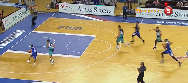 LA Revilla with a NASTY Move Against BC Astana (VIDEO)