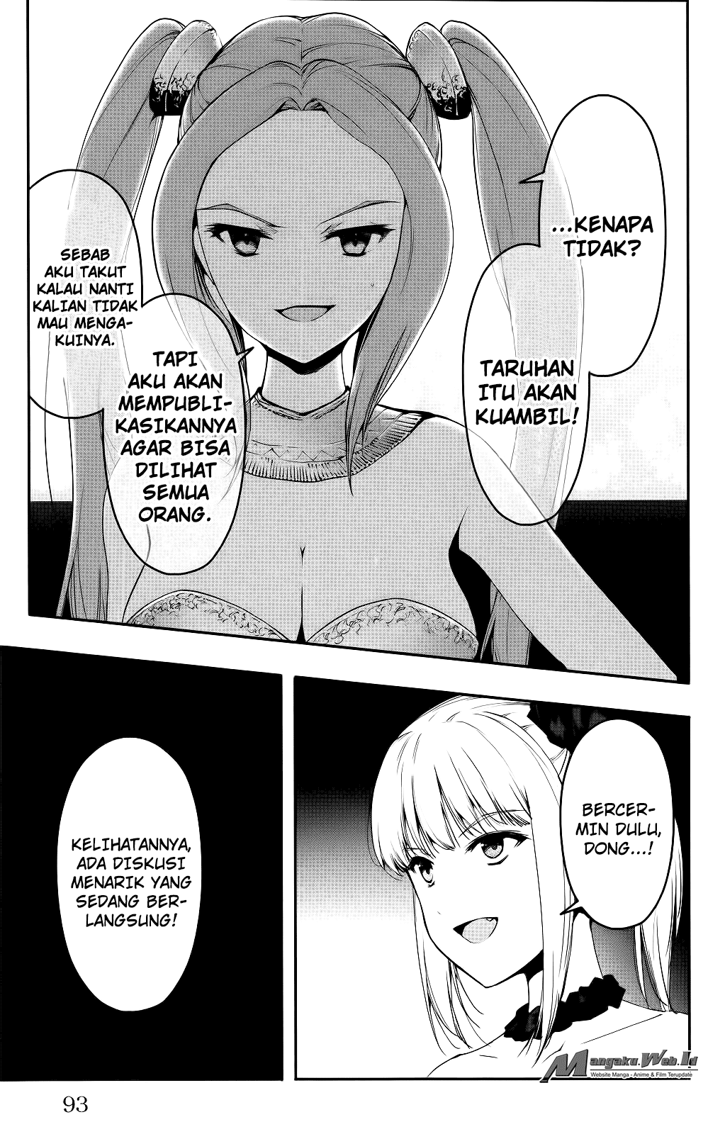 Darwin's Game Chapter 38-45