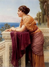 The belvedere, por Godward
