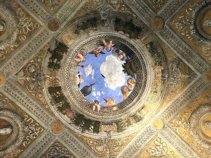 Palazzo ducale a mantova la camera degli sposi di andrea for Mantova palazzo ducale camera degli sposi