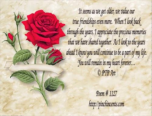 runo 40 vuotiaalle ystävälle