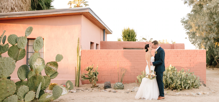 A Joshua Tree Bohemian Desert Wedding The Perfect Palette