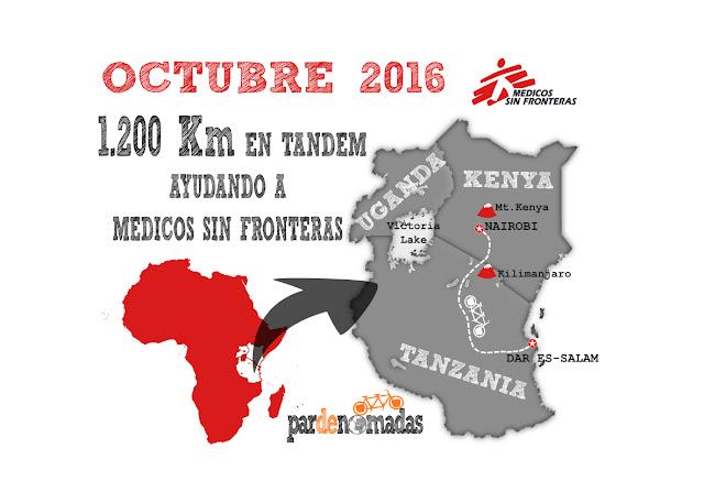 Pardenómadas con Médicos Sin Fronteras