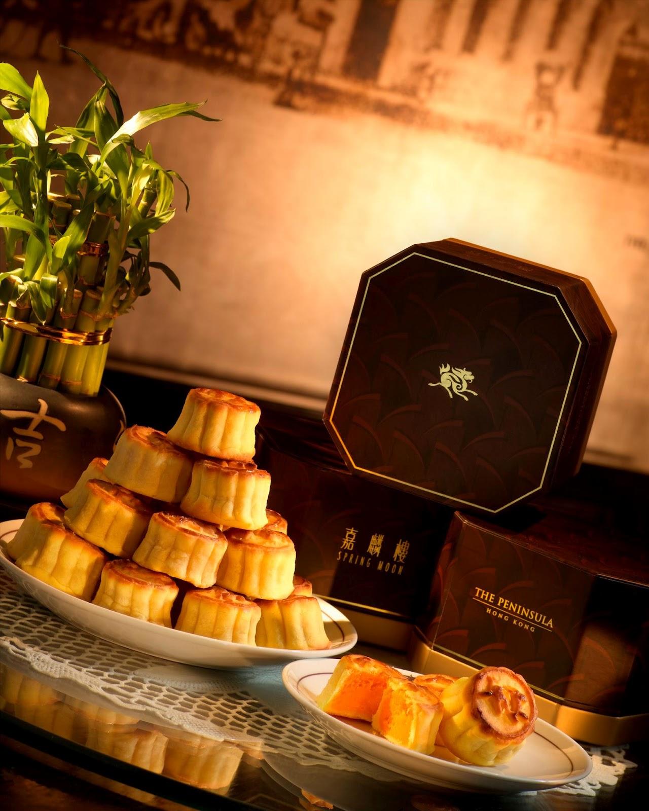 香港中秋月餅 Hong Kong Moon Cake: 半島嘉麟樓 奶皇月餅 今日賣曬