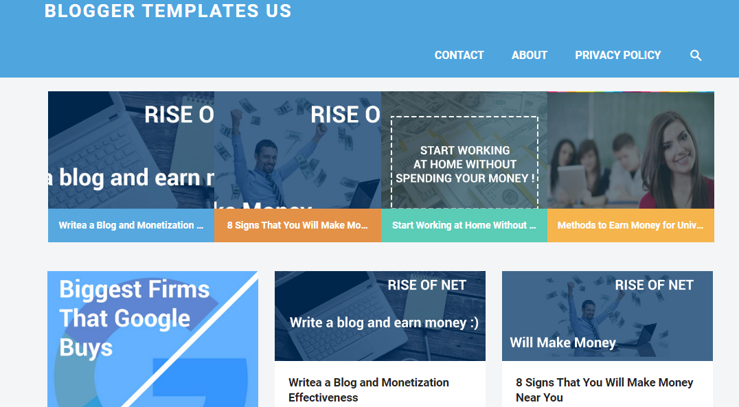 Free Gravity Responsive Blogger Template Blogger Templates - Blog privacy policy template