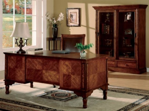 Home office furniture desk luxury desing for office for Home design furniture