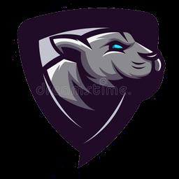 lambang kepala panther