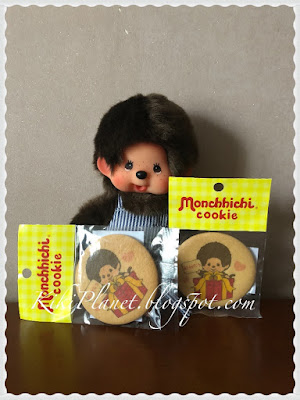 monchhichi chiquant badges plus secret, t-shirt