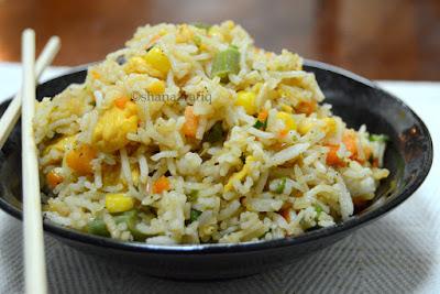 Egg & Vegetable Fried Rice