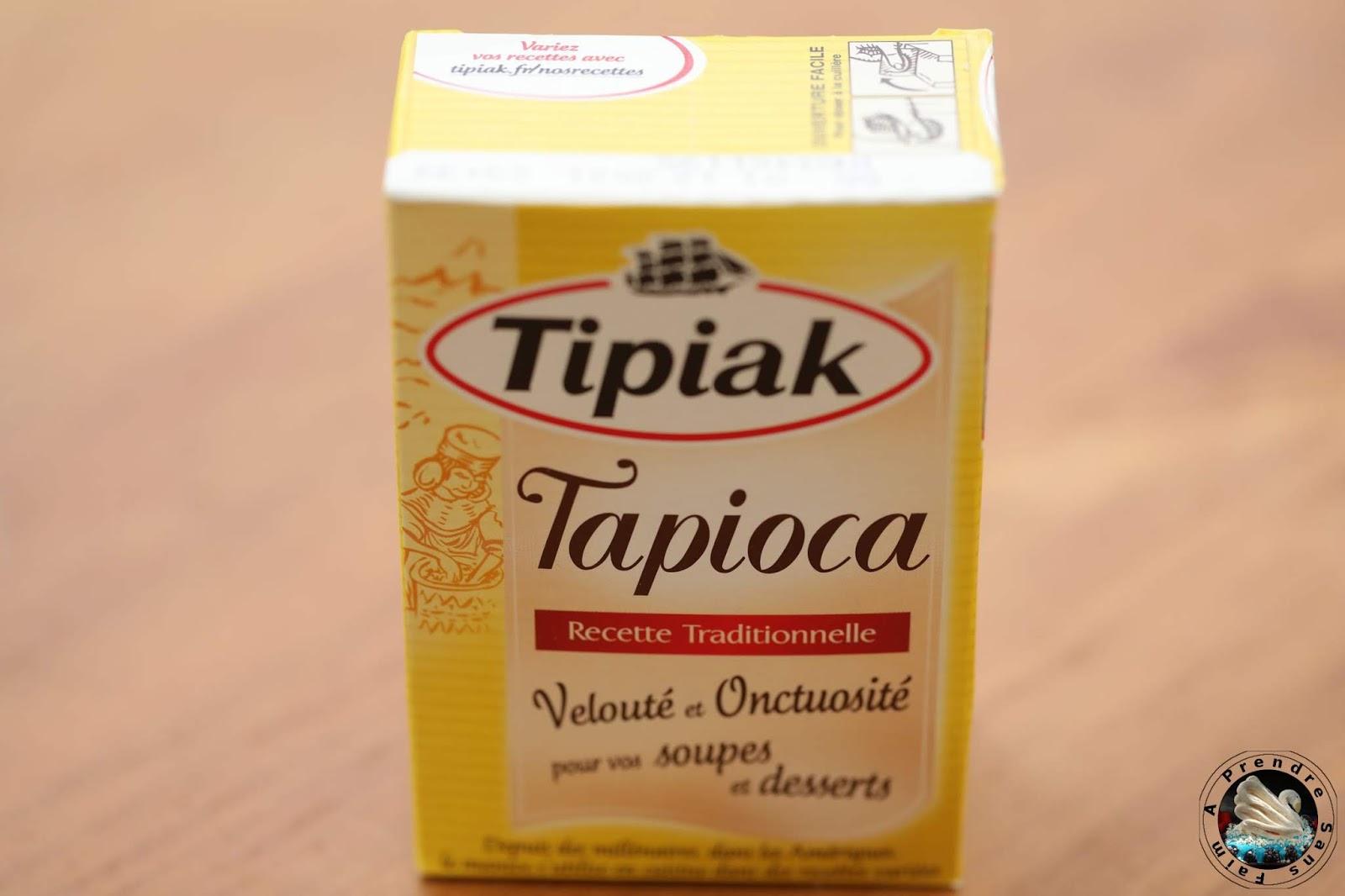 Crème dessert tapioca Nutella