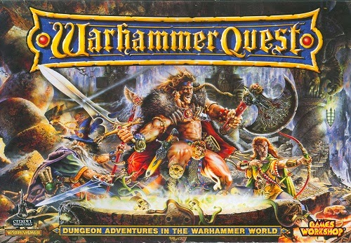 Warhammer Quest CODEX PC Game Cover by http://jembersantri.blogspot.com