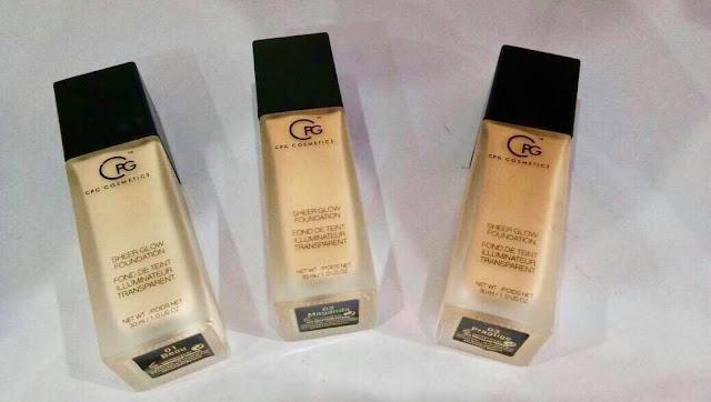foundation cpg cosmetics, foundation terbaik, foundation tahan lama