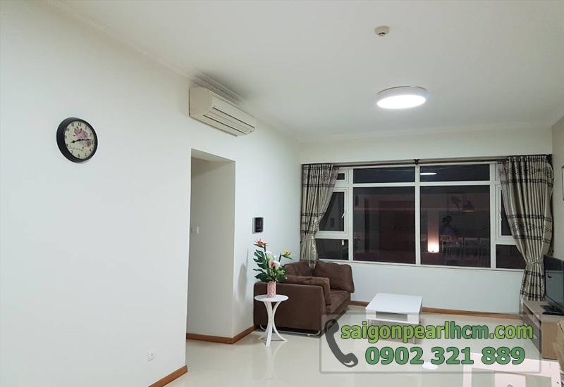 Căn hộ cho thuê Saigon Pearl 2 phòng ngủ - phòng khách