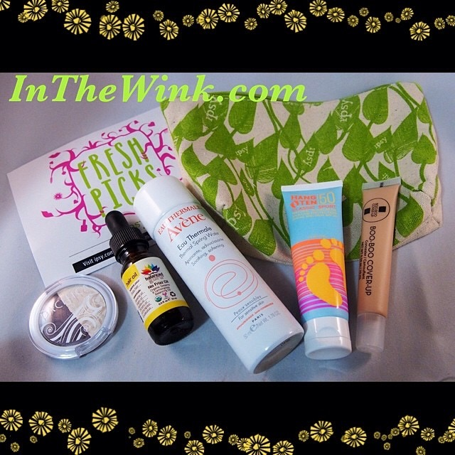 Beauty Box: Ipsy May 2014